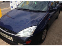 2001 Ford Focus 1.8 TD + 1 years MOT drives perfect