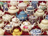 Vintage china crockery and glassware hire - weddings, parties, special events and more!