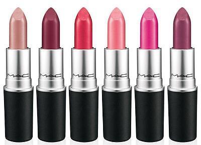 Mac Satin Lipstick 0.1oz/3.0g New In Box