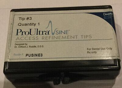 Dentsply Proultra Sine Tip 3 - Ultrasonic - Genuine - Endodontic - Access Refine