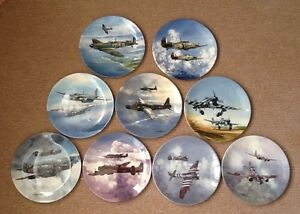 Reach for  the sky battle of britain Coalport Limited Edition plates. Mint boxed