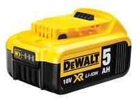 Dewalt 18v battery 5ah new!!!!