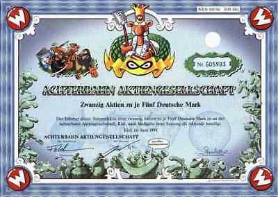 Achterbahn AG 1998 Kiel Werner Beinhart Rötger Feldmann Nieswand 100 DM Brösel