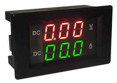 12v CAR 0-100V 20A DC DIGITAL LED VOLTMETER AMMETER AMP VOLT TESTER METER VMPA
