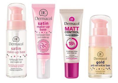 Dermacol Make Up Base Satin Active Gold Pearl Energy Matt Control Primer Choose