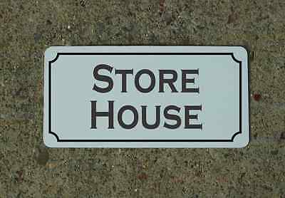 Store House Metal Sign 4 Costume Cosplay Rollplay Movie Stage Prop
