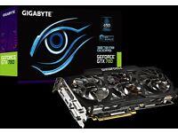 PC Graphics Card GIGABYTE WINDFORCE 3X GTX 780 3GB 6008MHZ GDDR5 954/1006MHZ GPU 384BIT OC