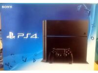 Sony PS4 500 GB Jet Black C Chassis - NEW & Sealed