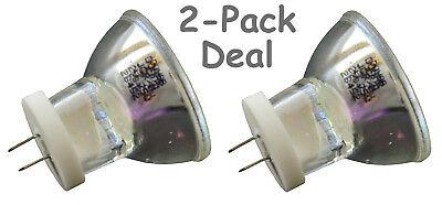 2pc Bulb For 3m Visulux I Ii Xl1500 Xl2500 Xl3000 Acubite Hilux 200 250 Dental