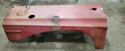 Massey Harris 44 Diesel Tractor Hood Very Straight Mh Sheet Metal Hood