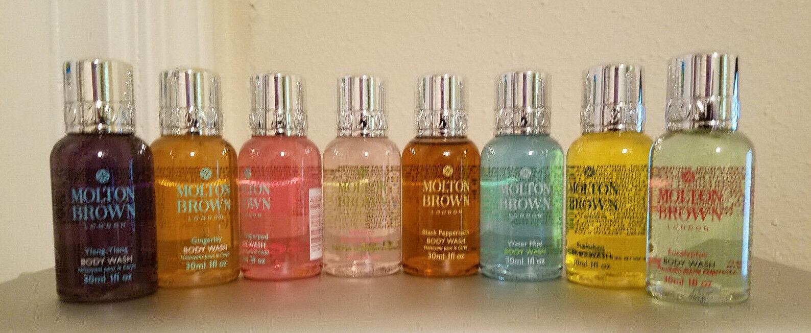 Molton Brown Body Wash Travel Size 30 ml/1 oz each
