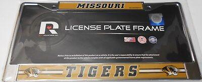 Missouri Frame - Missouri Tigers Chrome License Plate Frame.    #K11-2