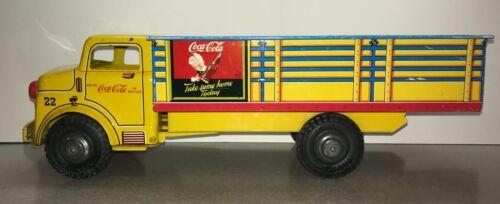Marx 1956 Vintage ORIGINAL Coca-Cola Delivery Truck with Sprite Boy EXCELLENT