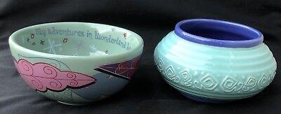 - Disney Alice in Wonderland My Adventures Ceramic Trinket Bowl Set Disneyland New