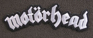 MOTORHEAD   Iron On/Sew On Patch Emo Goth Punk Rock