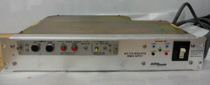 GRASS Intruments Regulated Power Supply RPS 7C8
