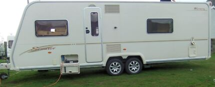 2006 Bailey Senator Wyoming 4 berth Caravan,Fixed Bed,New Tyres. Torquay Surf Coast Preview
