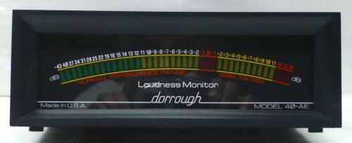 Selling As Is Dorrough 40-AE Loudness Monitor.