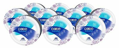 Dixie Everyday Paper Plates, 8 1/2 Inch Plates, 480 Count (10 Packs of 48