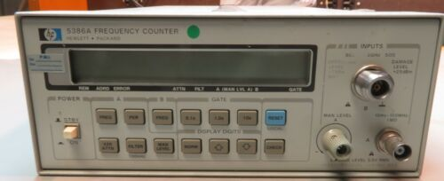 Hewlett Packard Keysight 5386A Frequency Counter 004 Oven Timebase