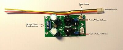 Ac-dc Lm317 Lm337 Adjustable Regulated Dual Power Supply Module Board