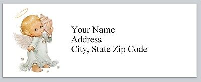 30 Personalized Address Labels Baby Angel Buy 3 get 1 free (bx 106)