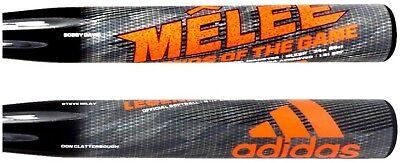 2017 Adidas Melee 2 End-Loaded 12 Senior Softball Bat 34 25oz: NO WARRANTY
