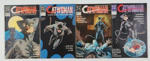 Catwoman #1-4 VF/NM complete series - dc comics 2 3 set lot batman first mini