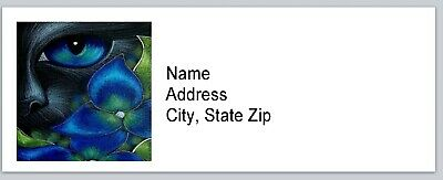 Personalized Address Labels Cat Art Buy 3 Get 1 Free Bx 582