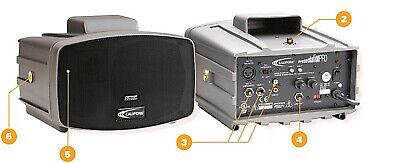 CALIFONE PA-300 PLUS PRESENTATION PLUS  PORTABLE PA SYSTEM NEW IN BOX