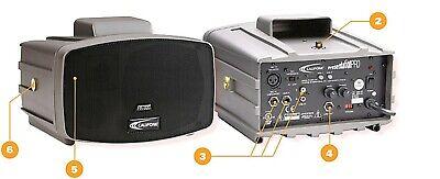 Califone Pa-300 Plus Presentation Plus Portable Pa System New In Box