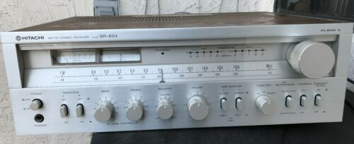 HITACHI SR 604 RECEIVER VINTAGE STEREO - TESTED - WORKING