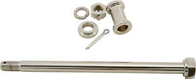 HARDDRIVE REAR AXLE W/HARDWARE (CHROME PLATED) 68-100A
