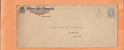 PORTLAND LABEL COMPANY INC OCT 27,1918    VINTAGE ADVERTISING COVER for sale  Shipping to Canada