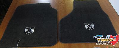 09-12 Dodge Ram 1500-3500 Regular or Quad Cab Carpet Front Floor Mats Mopar OEM