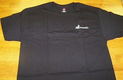Mens Hanes Alumni Black Graphic Tee Sz L 100  Cotton  New In Package