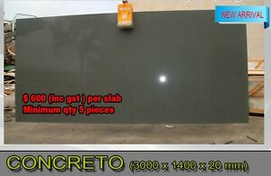 CONCRETE STONE BENCHTOP KITCHEN VANITY LAUNDRY QUARTZ NEW Melbourne CBD Melbourne City Preview