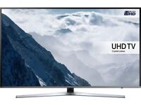 "Samsung UE49KU6400U LED 4K Ultra HD Smart TV, 49"" with Freeview HD/Freesat HD and Built-In Wi-Fi"""
