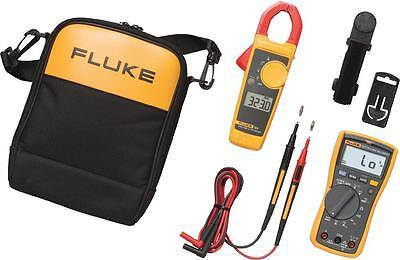 Fluke 117323-kit Electricians Combo Kit 117 Multimeter 323 Clamp Meter Kit
