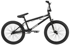 20 in Mongoose Boy's BMX Freestyle Bike Data X 2.2, Black Grey