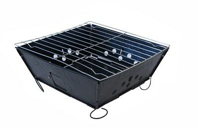 Folding Portable BBQ Grill Camping RV Picnic Cooking Backpack Grilling Barbecue