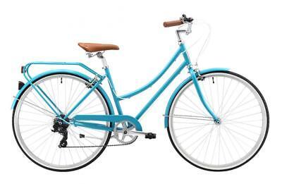 """Reid Bella Ladies 26"""" Bike (Matte Aqua) 7 Speed 42cm Frame Classic Cruiser"""