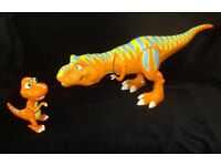 2 x Dinosaur Train Interactive Dinosaurs