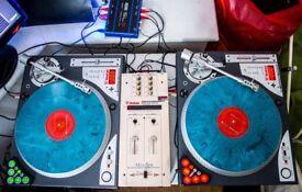 Vestax pdx d3s mixer mpc 06 pro a with innofader rane serato blue editon stanton 500 scratch dj kit