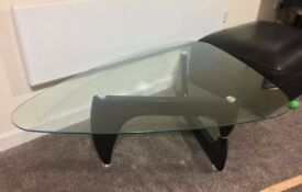 Designer Inspired Glass Coffee Table