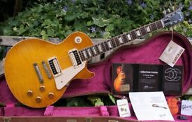 Sumptuous 2012 Gibson Collectors Choice Sandy #4 Les Paul R9, Tom Murphy Aged & OHC