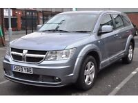 2009 DODGE JOURNEY 2.0 SXT CRD AUTO DIESEL SILVER 7 SEATER, 41K, GRAB A BARGAIN , CHEAP SUV VEHICLE