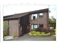 Cranleigh, Surrey 2 bed retirement flat - ground floor, walk in shower-full amenities. new carpet