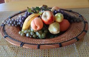 PANIER DE FRUITS EN OSIER