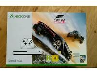 Xbox One S 500gb Forza Horizon 3 Bundle - New